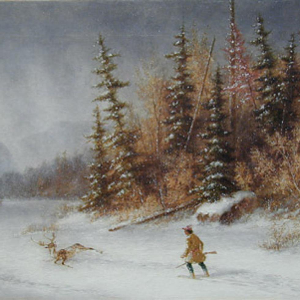 Deer Hunters-Cornelius Krieghoff