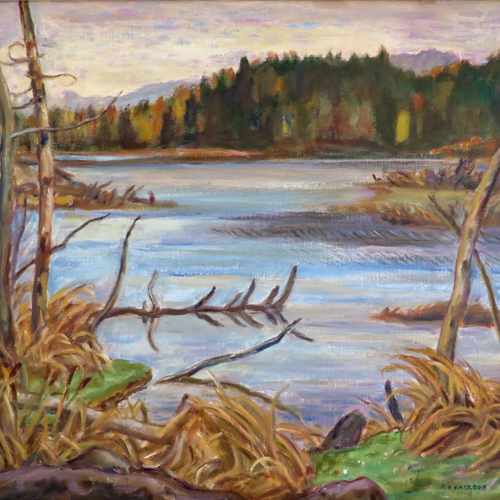Beaver Lake, Ontario-A.Y. Jackson, C.C., C.M.G., LL.D., R.C.A., O.S.A.