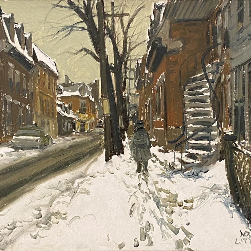 Rue de la Gauchetière (d'autrefois), Montréal-John Little