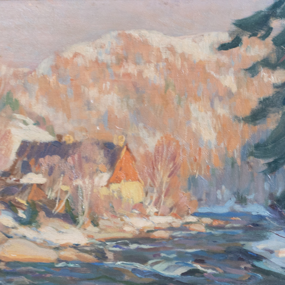 The Old Mill (Charlevoix)-Clarence A. Gagnon, R.C.A.
