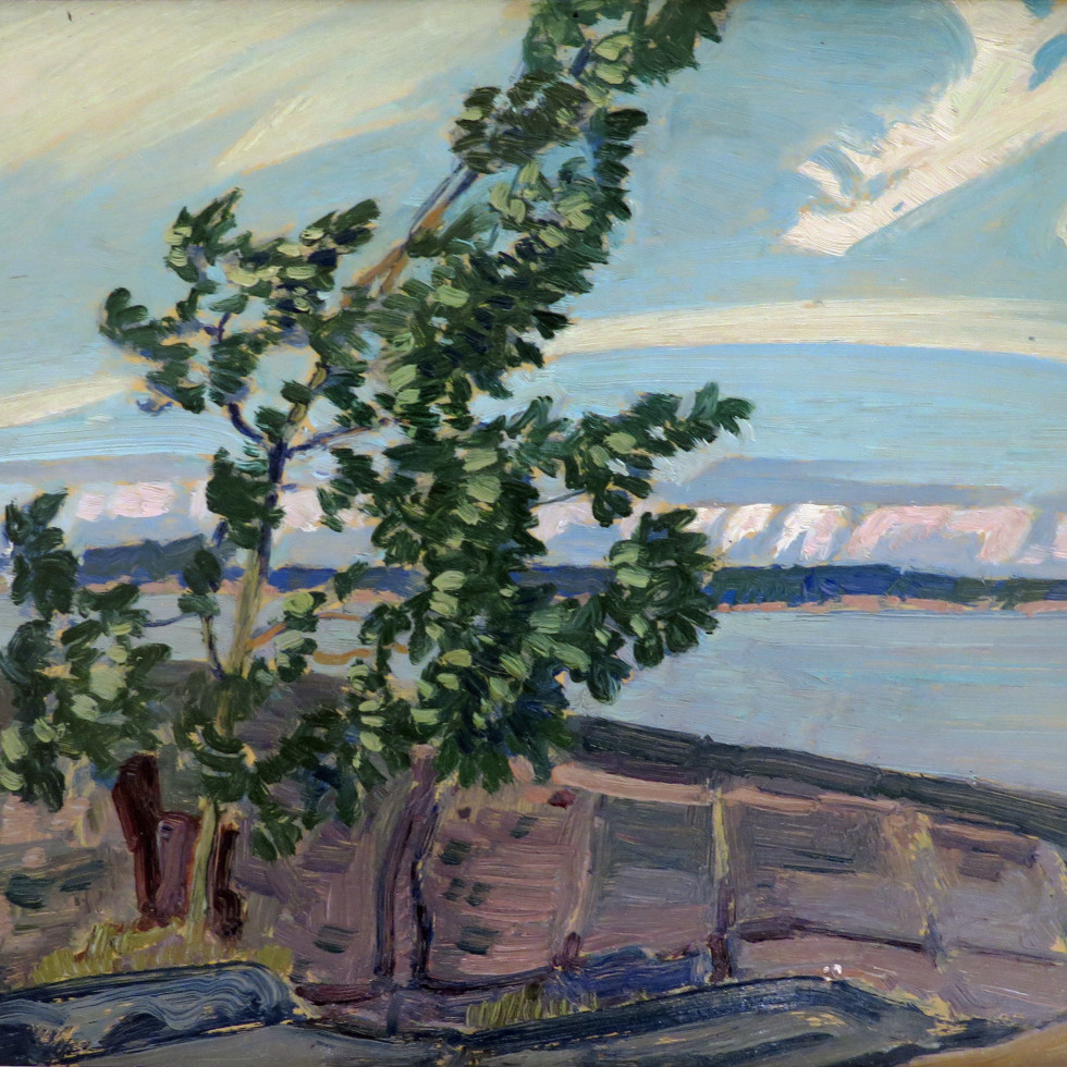 Poplar Point, Sturgeon Bay-J.E.H. MacDonald, R.C.A., O.S.A.