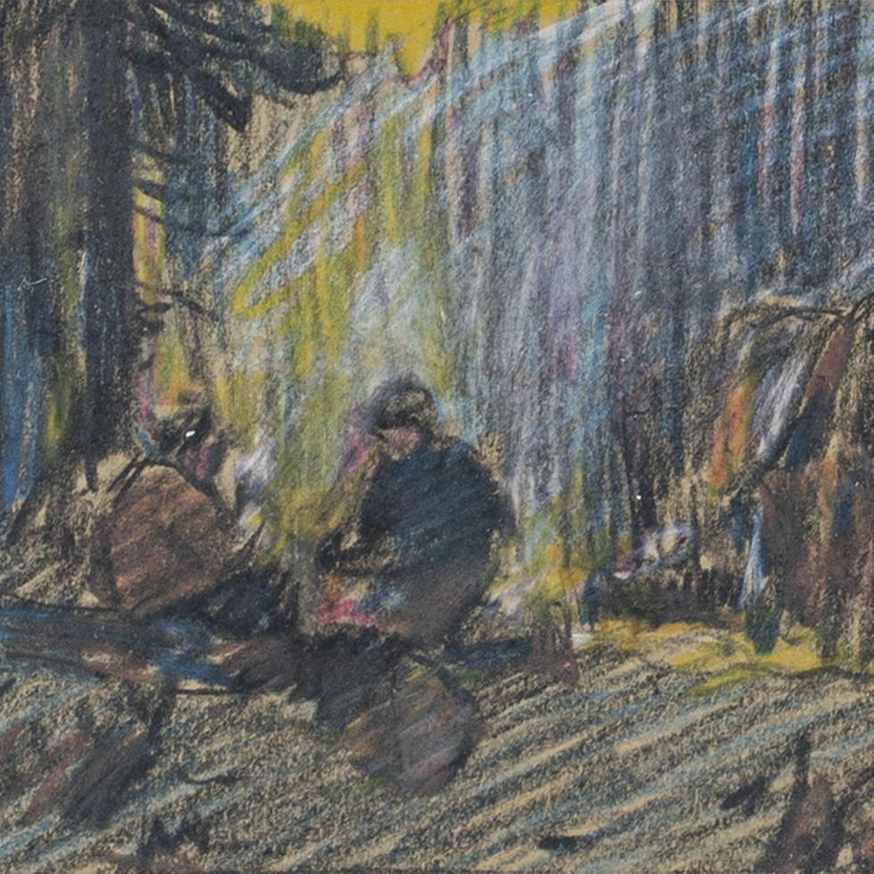 Bûcherons en forêt-Clarence A. Gagnon