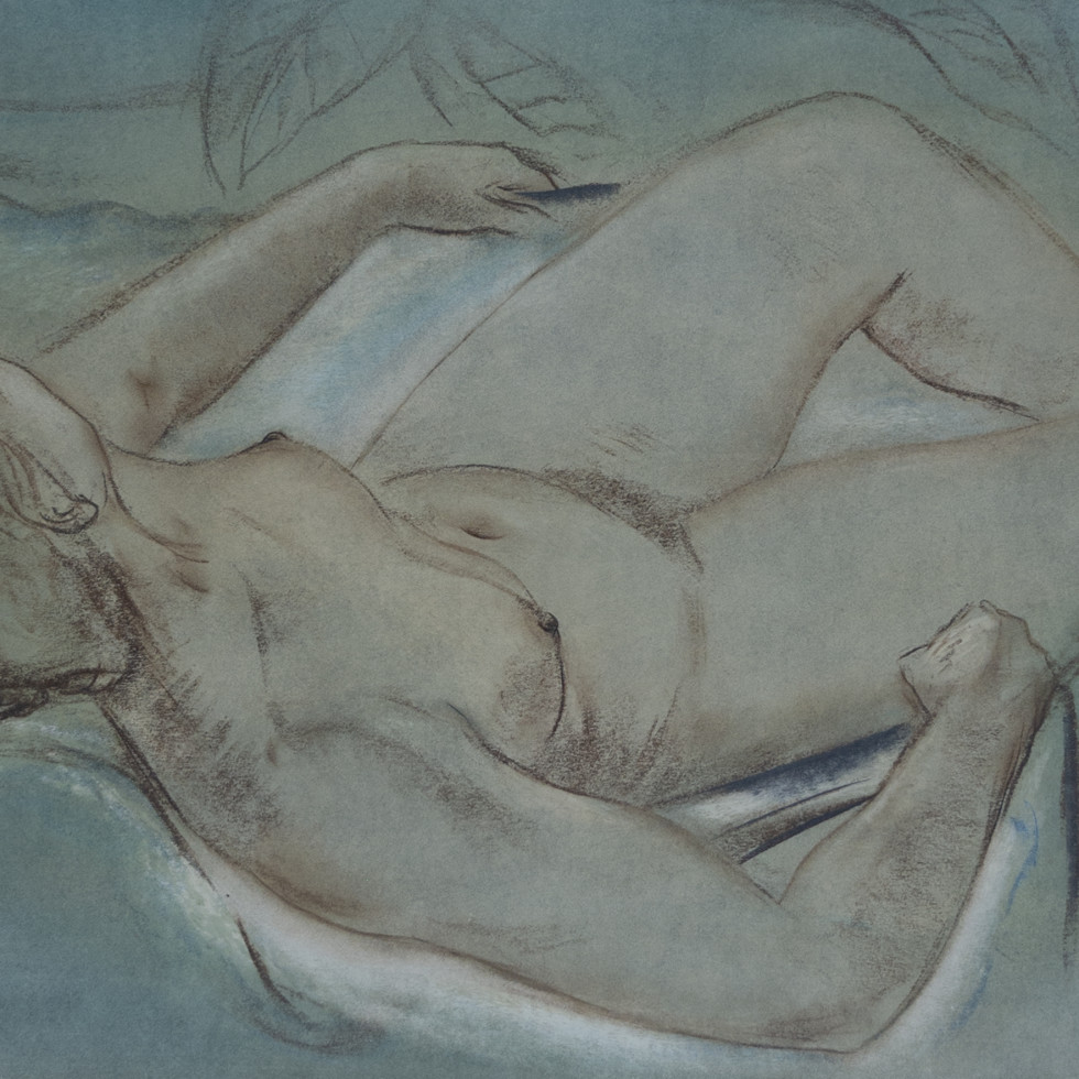 Reclining Nude-Louis Muhlstock
