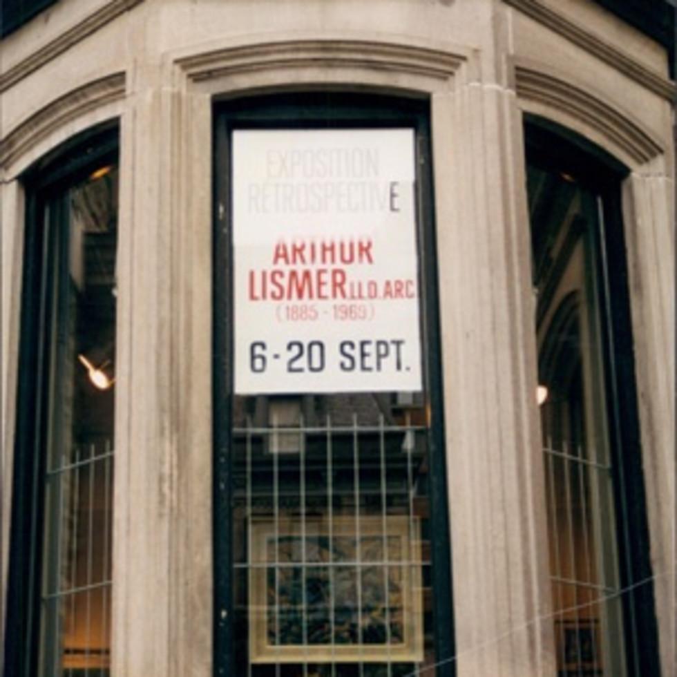 Arthur Lismer-Exposition rétrospective