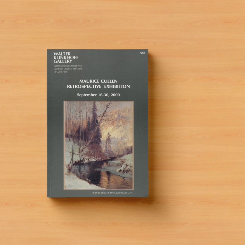 Maurice Cullen- Retrospective Exhibition