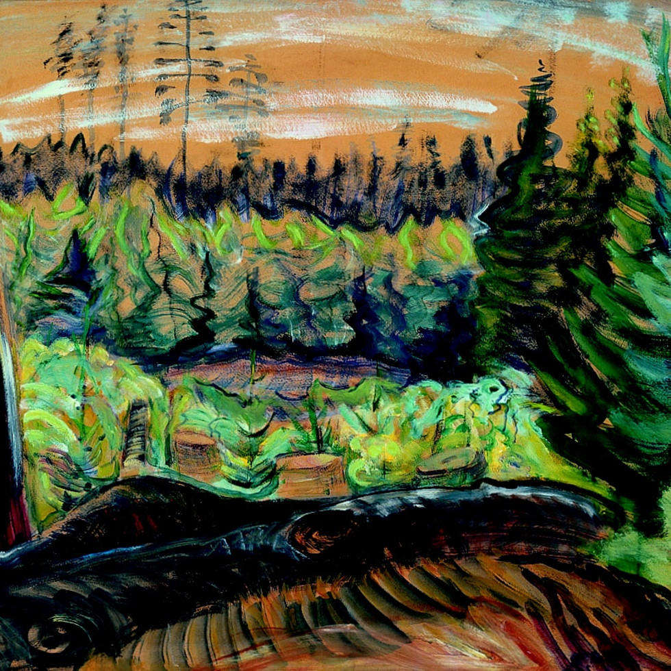 Emily Carr-Retrospective Exhibition