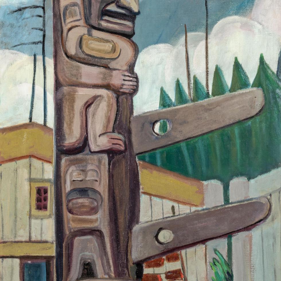 Emily Carr's Haida, Totem (1928)