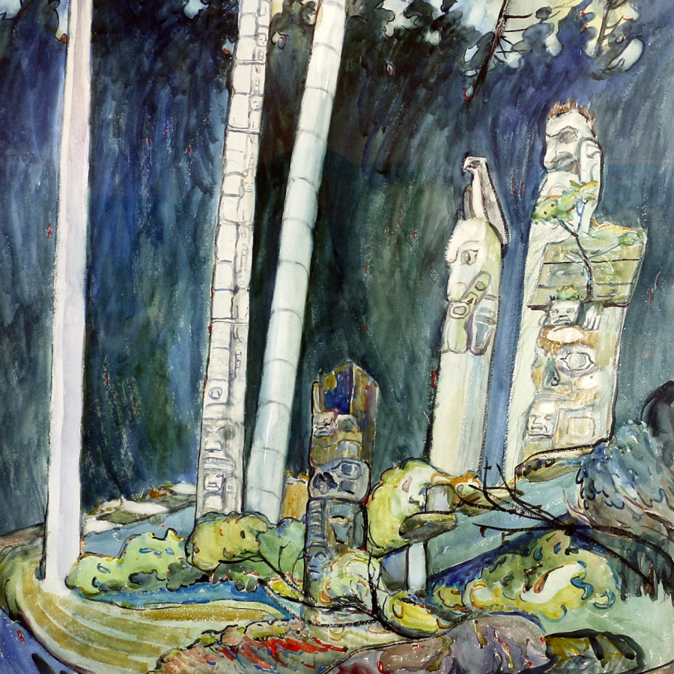 "Emily Carr's ""Totems, Tanoo"": Unpublished and Unseen in Public since 1944"