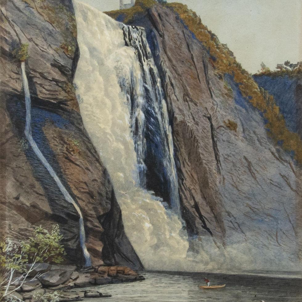 "John B. Wilkinson's ""Montmorency Falls"", 1867"