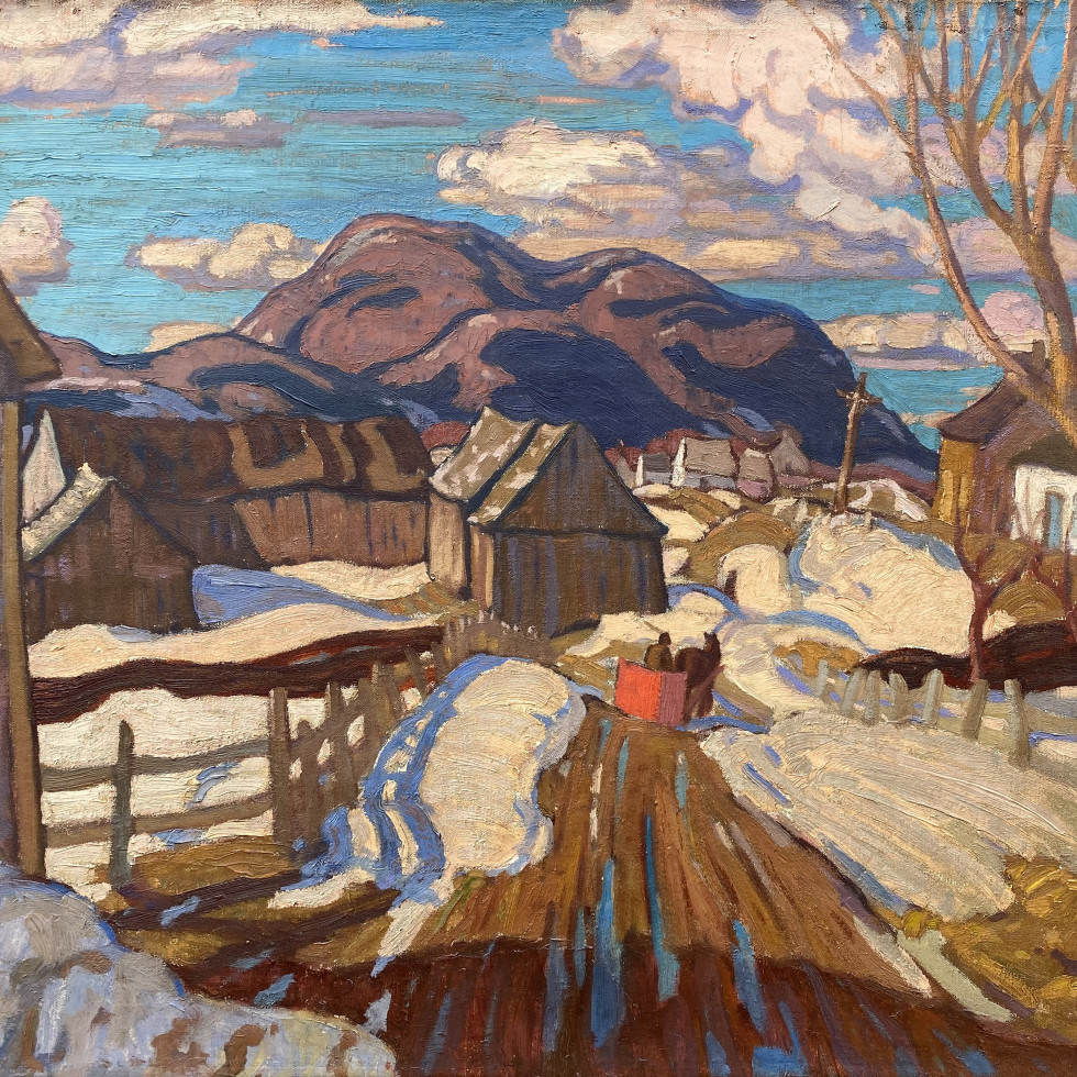 A.Y. Jackson's Early Spring, Quebec, (1926)