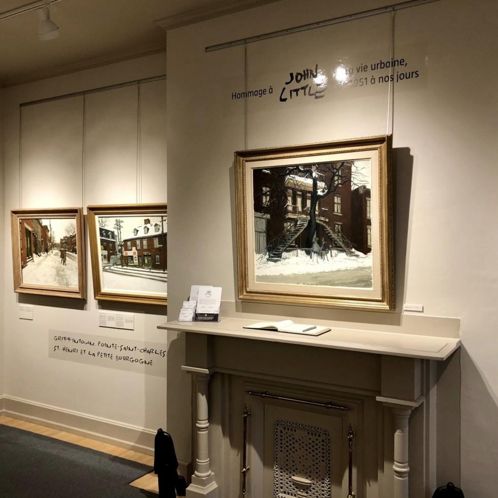 John Little, City Life | Tribute Exhibition at Alan Klinkhoff Gallery