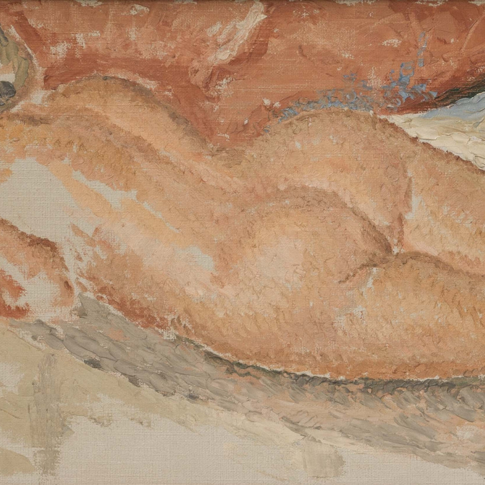 Exquisite Nude by Lionel LeMoine FitzGerald-