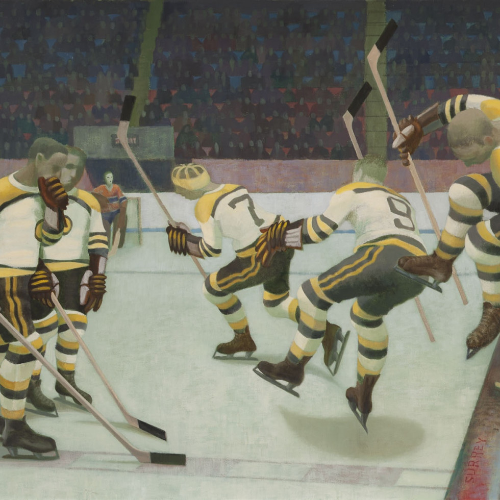 The Most Important Hockey Painting
