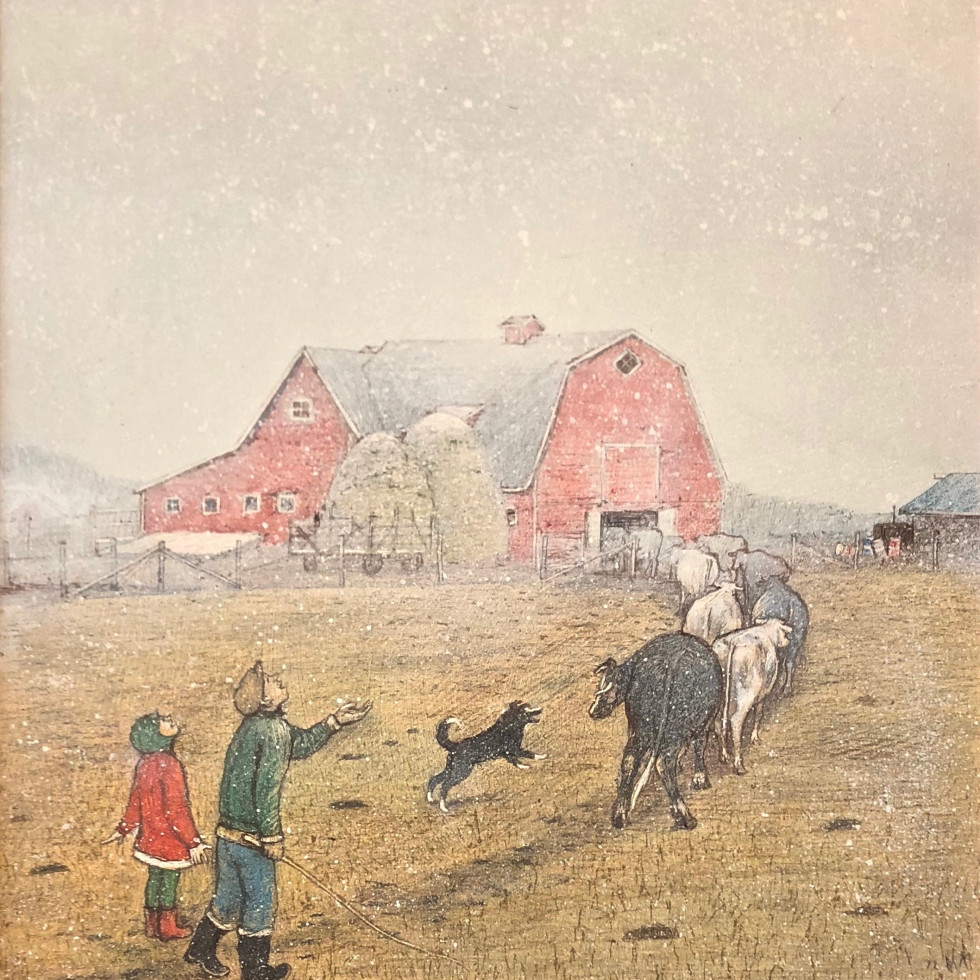 William Kurelek: A Prairie Boy's Winter