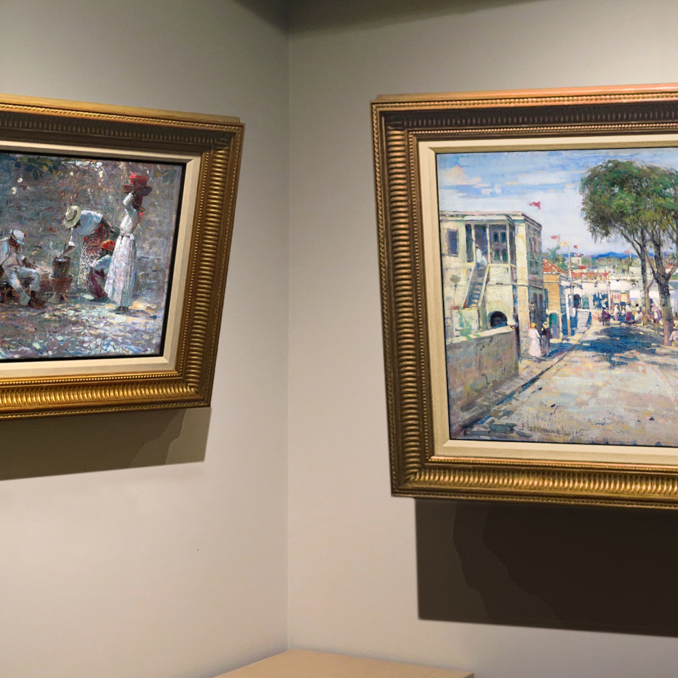 "Two Caribbean Scenes by Brownell are ""Rare Treasures of Their Kind"""