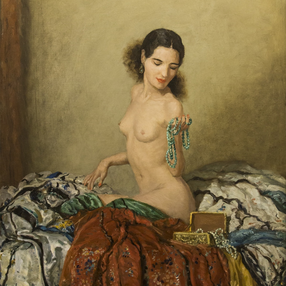 "Frederick Coburn's ""The Green Necklace"""