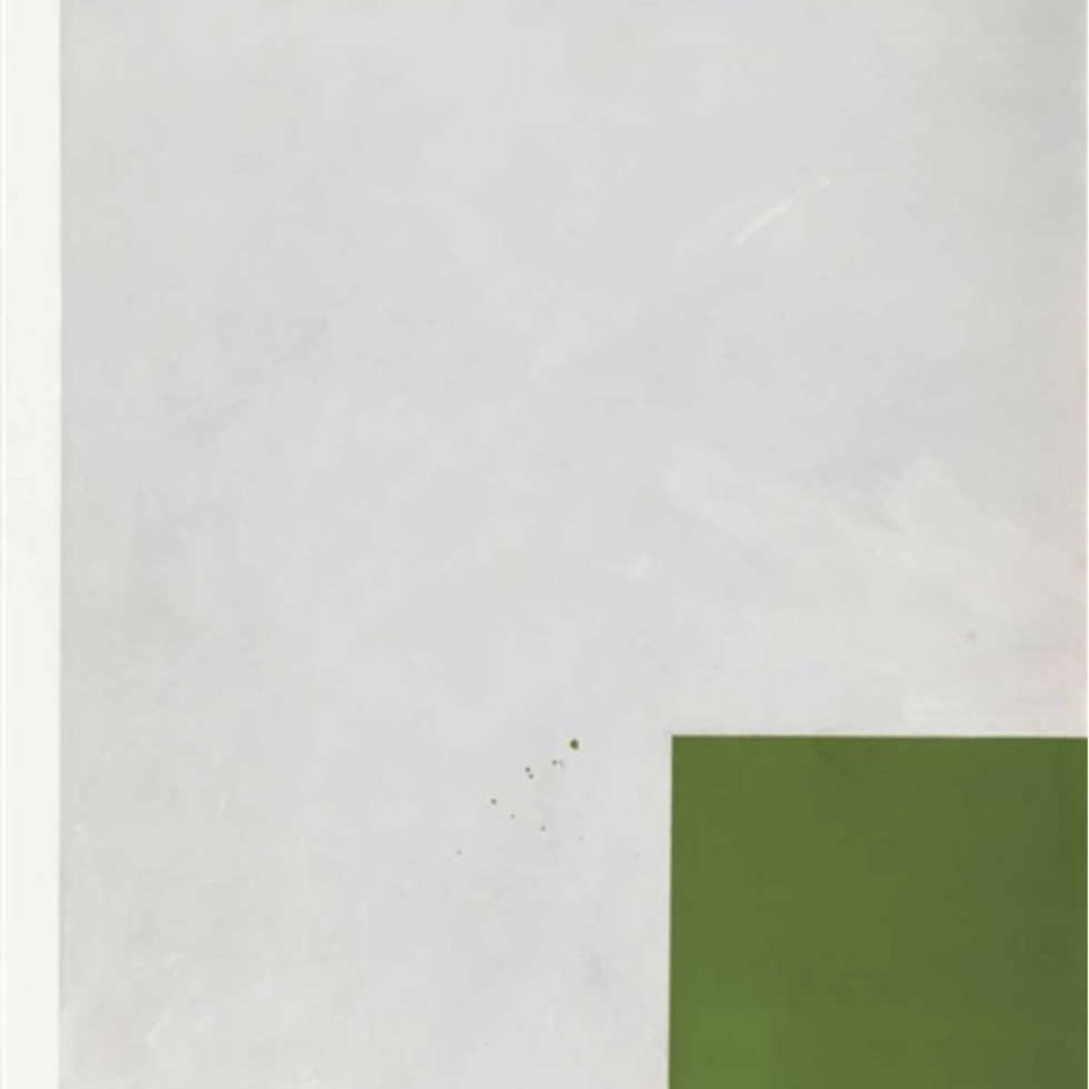 Charles Gagnon's ''Feeler Green Stage 2'' (1966) and the process of painting