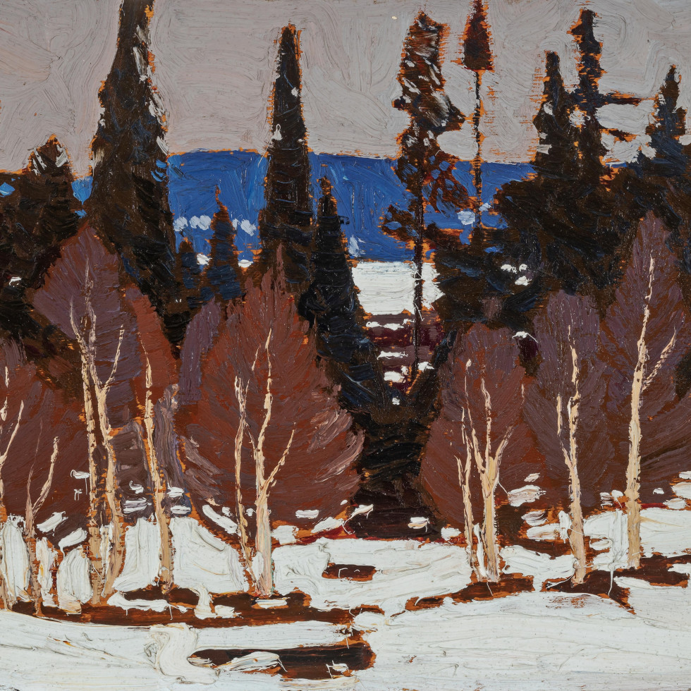 Early Spring, Algonquin Evening by Tom Thomson