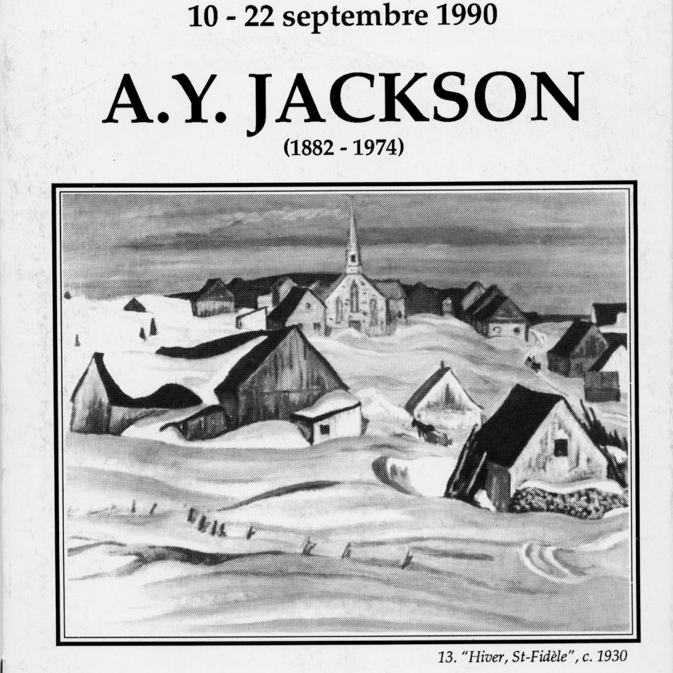 A.Y. Jackson (1882-1974) Retrospective Exhibition-A.Y. Jackson as Remembered by Walter Klinkhoff