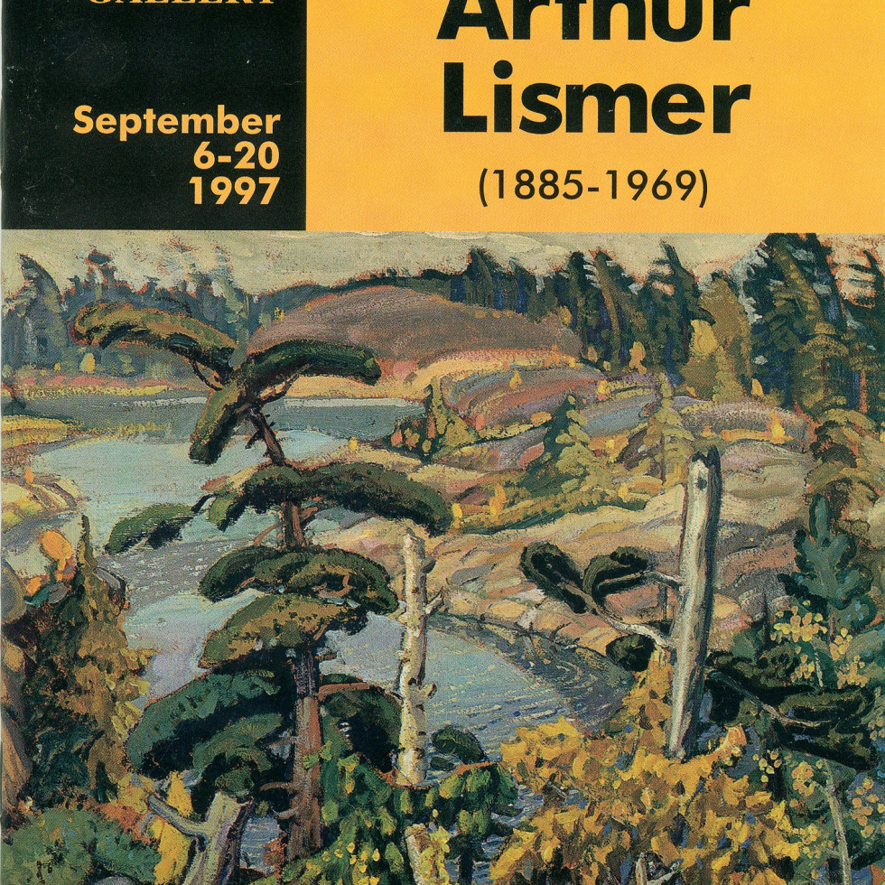 Arthur Lismer (1885-1969) Retrospective Exhibition-Biography by Walter Klinkhoff