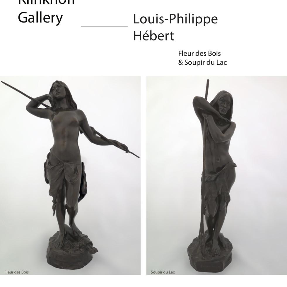 """Louis-Philippe Hébert's """"Fleur des Bois & Soupir du Lac"""""""