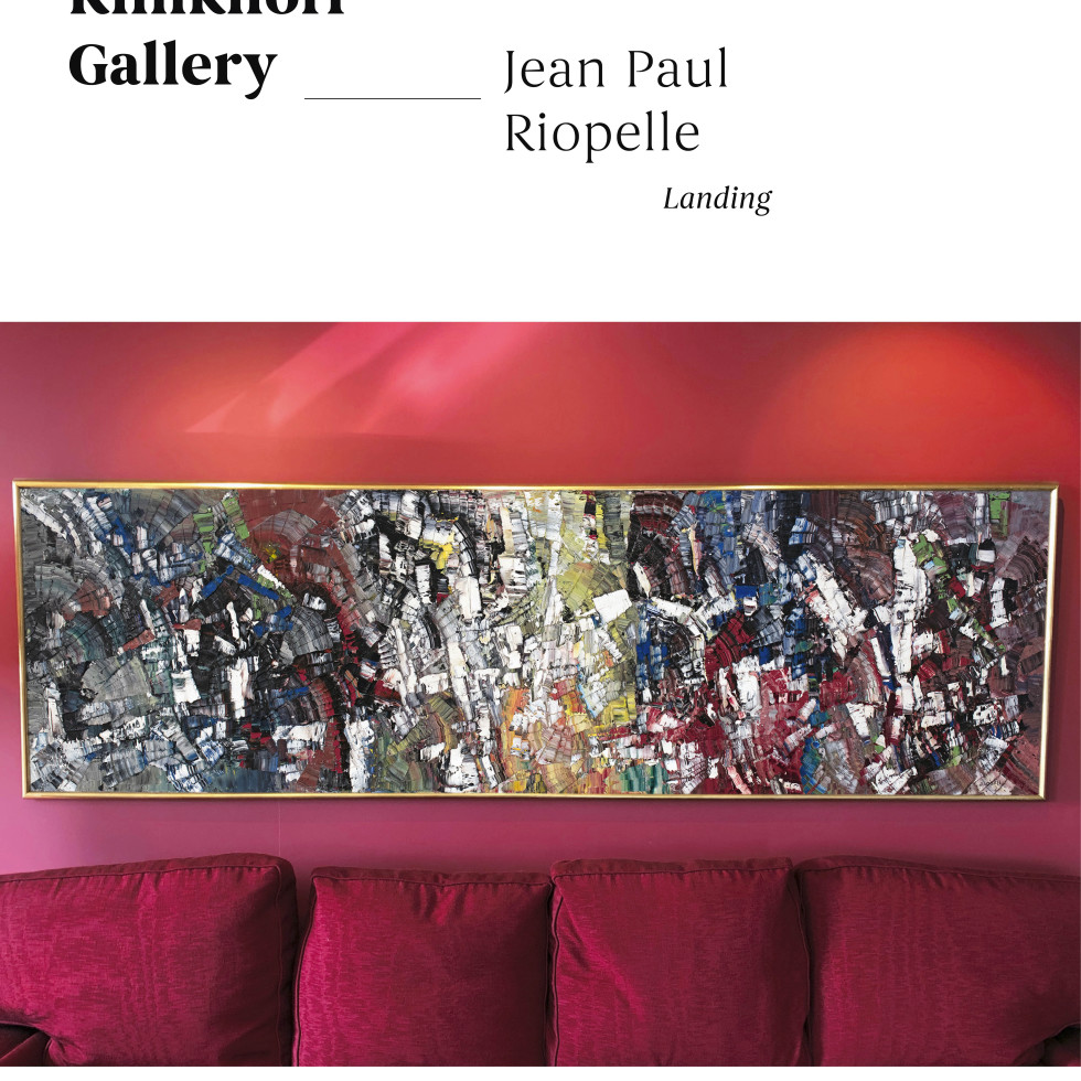 "Uncovering ""Landing"" by Jean Paul Riopelle"
