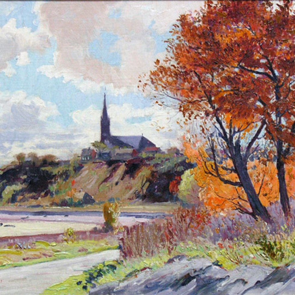 "A Closer Look at Robert Pilot's Vivid ""Golden Autumn, Sillery"" (1931)"