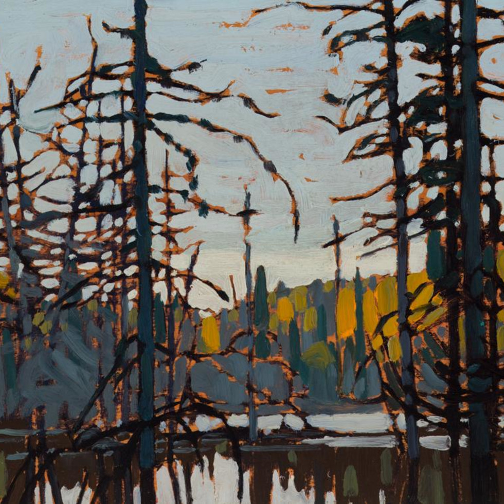 Featured Painting: Lawren Harris, Algoma (Beaver Swamp), 1920