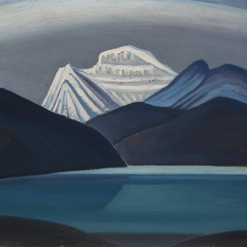Featured Painting: Lawren Harris, Mountain Sketch (Lake and Mountain) c. 1928