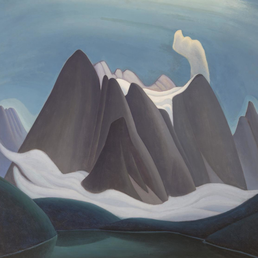Lawren Harris' Mountain Forms-
