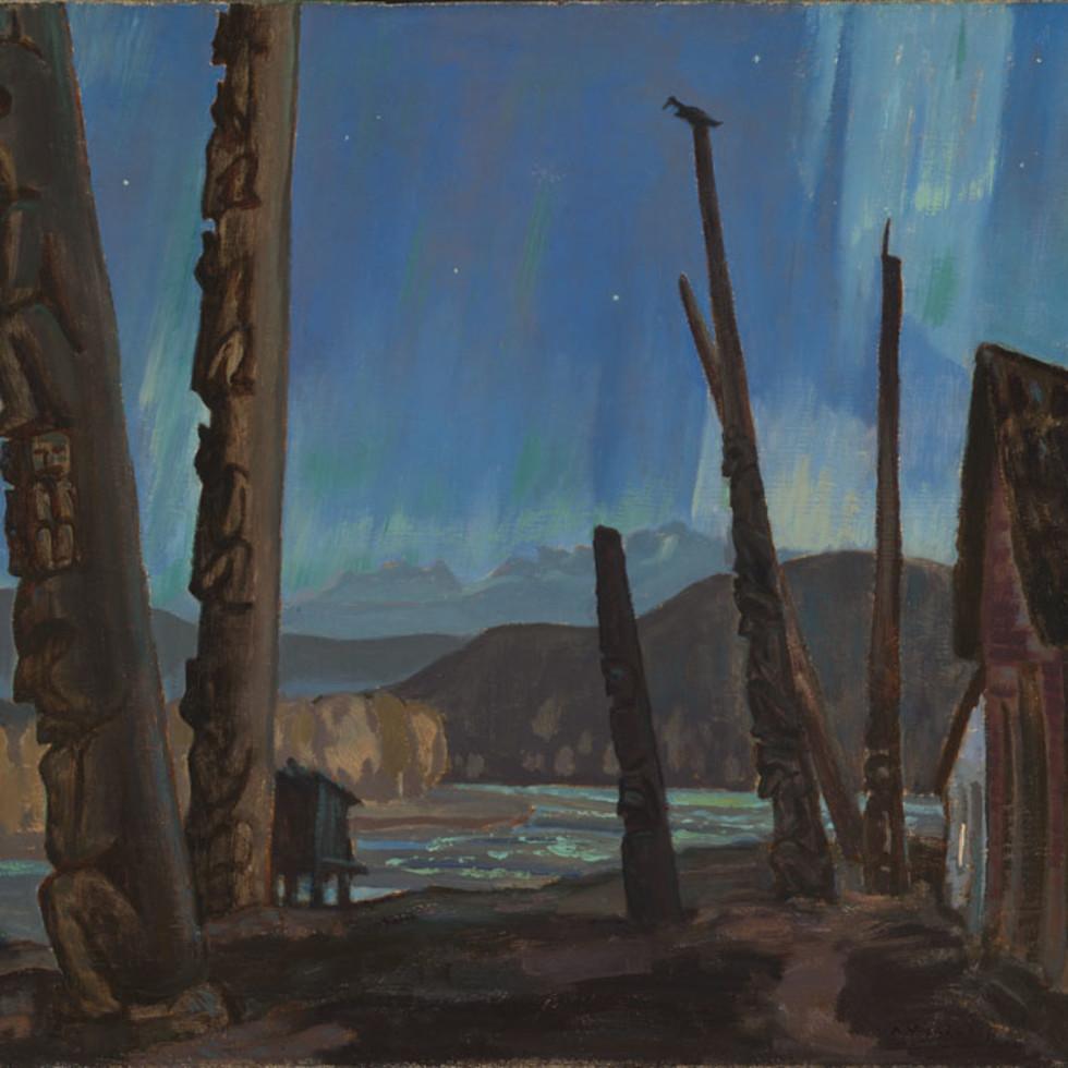 A.Y. Jackson's Skeena River Canvases