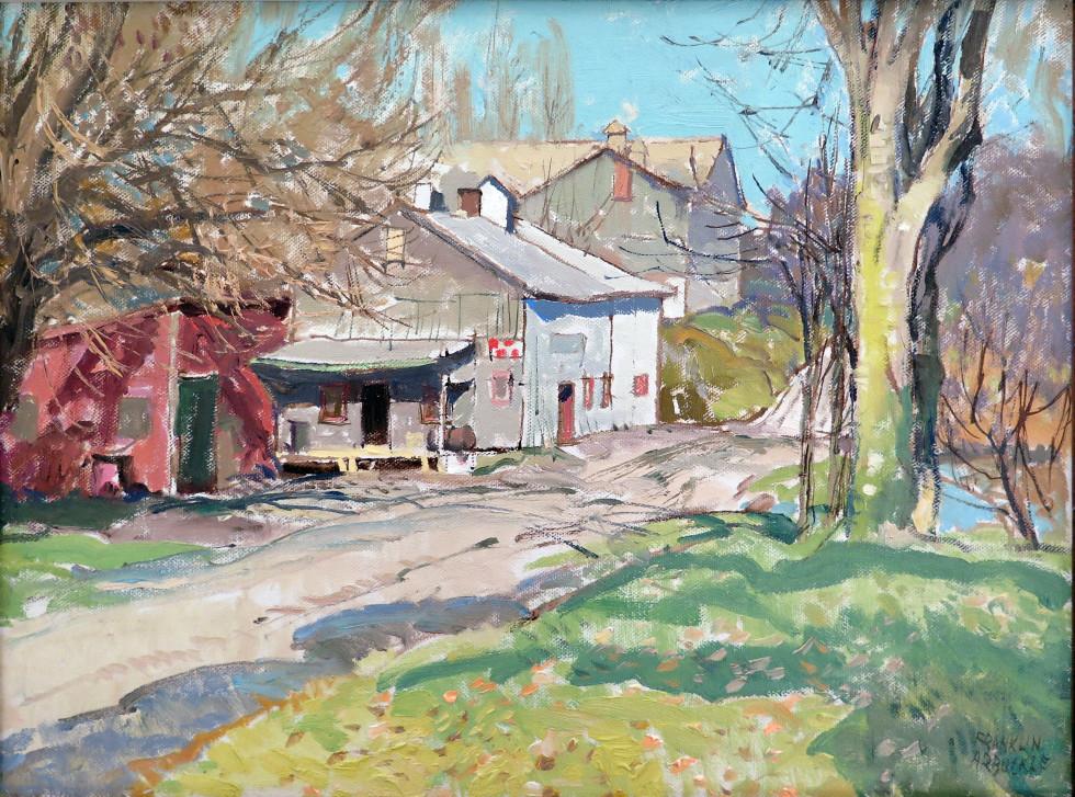 Franklin Arbuckle, R.C.A., De Salvos Mill, 1985 (November 15)