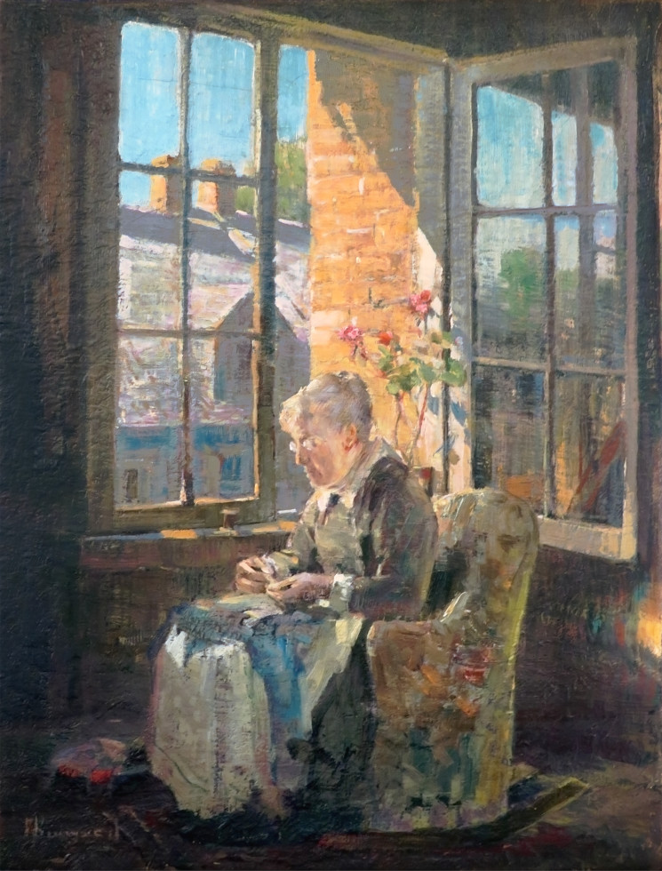 Franklin Brownell, R.C.A., At the Window