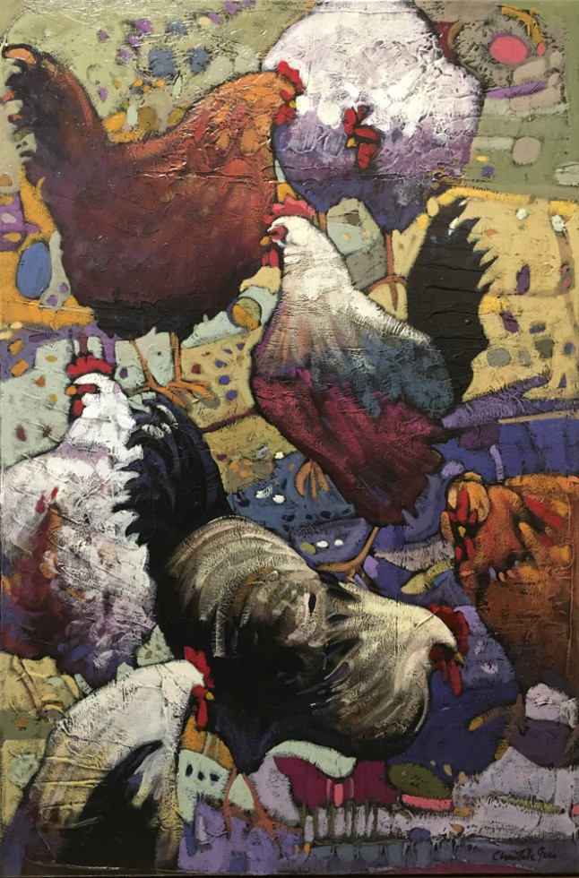 Chantale Jean, Pyjama Party (poules/chicken)
