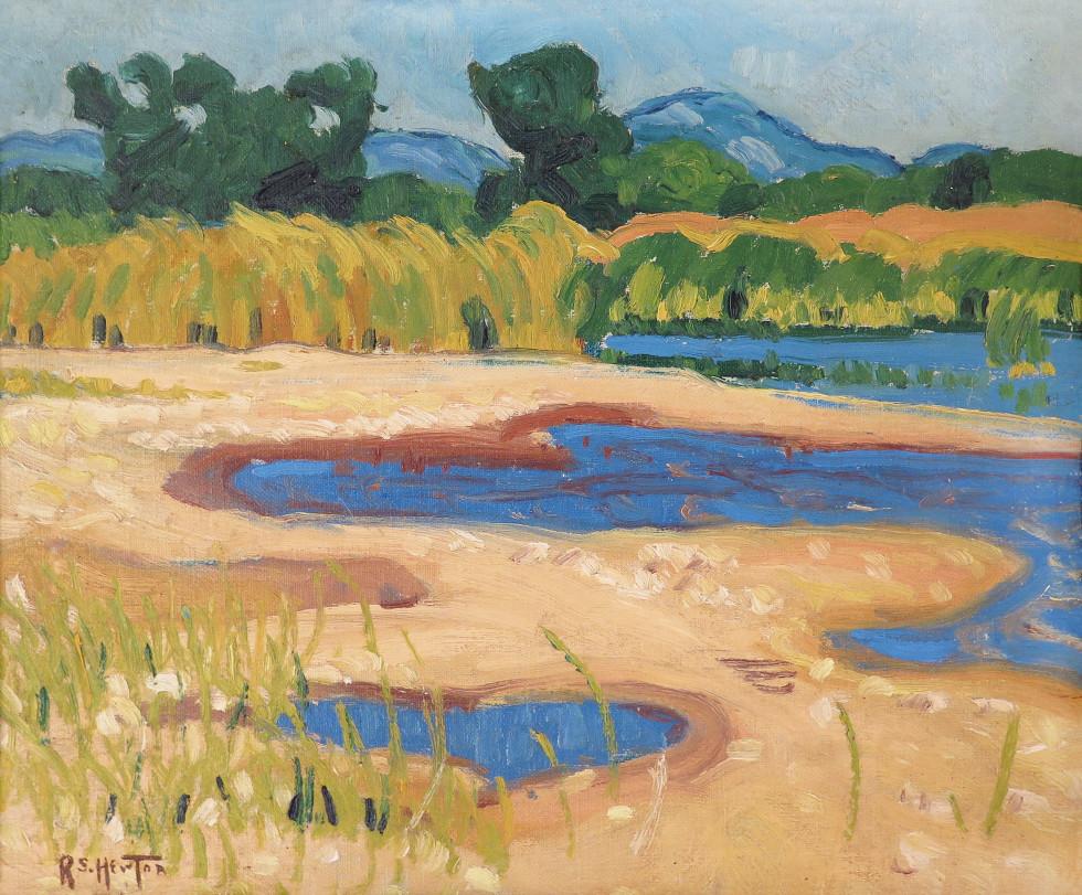 Randolph S. Hewton, R.C.A., Summer Landscape