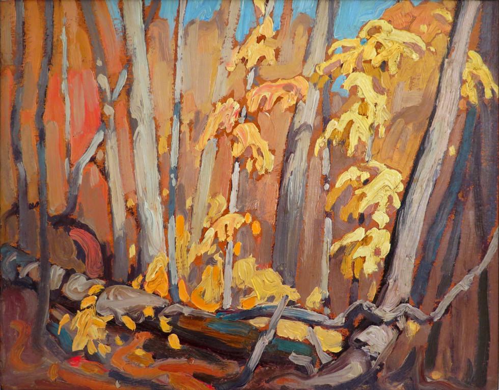 Lawren S. Harris, C.C., LL.D., Autumn Woodland (Algoma), 1920-1921 (circa)