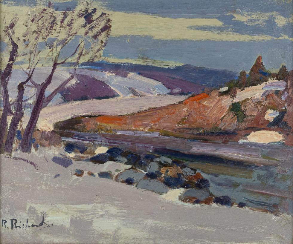 René Richard, C.M., R.C.A., Baie St. Paul