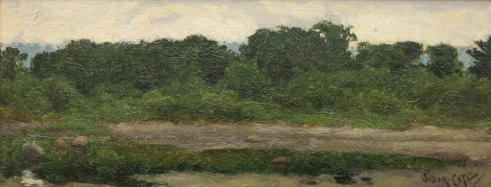 Marc-Aurèle Suzor-Coté, R.C.A., Bord de la rivière Nicolet, 1896
