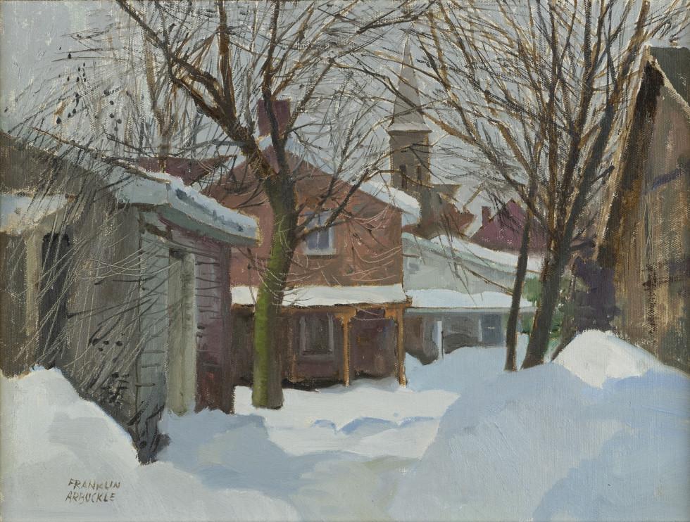 Franklin Arbuckle, R.C.A., Hastings, Ontario