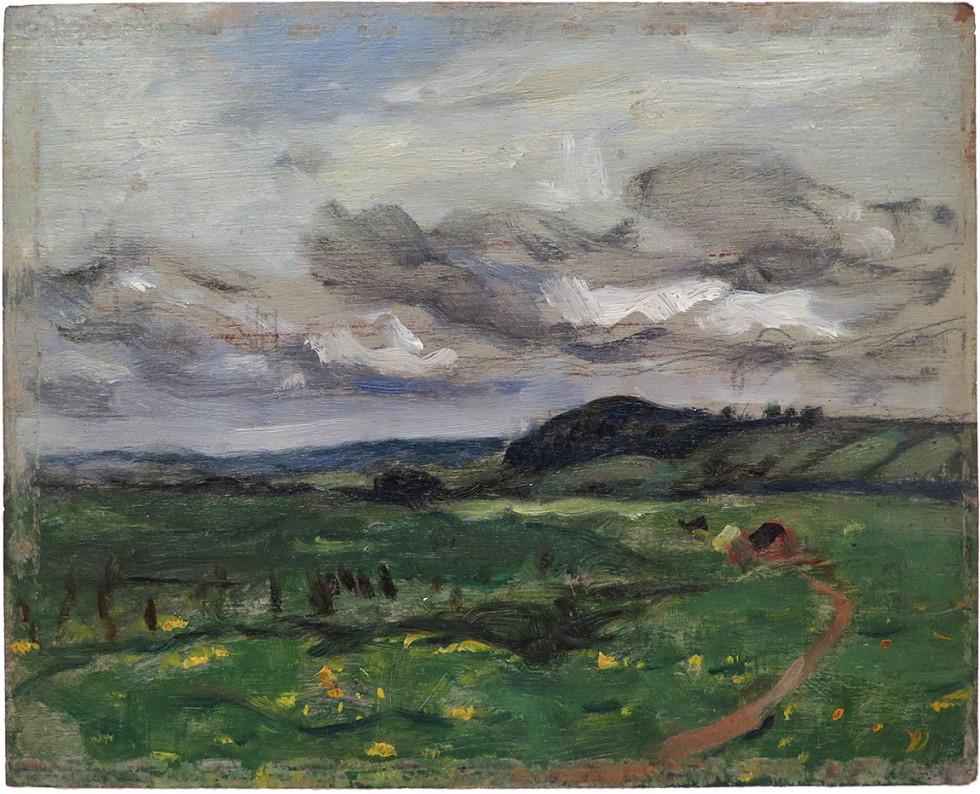 James Wilson Morrice, R.C.A., Landscape, 1909 (circa)