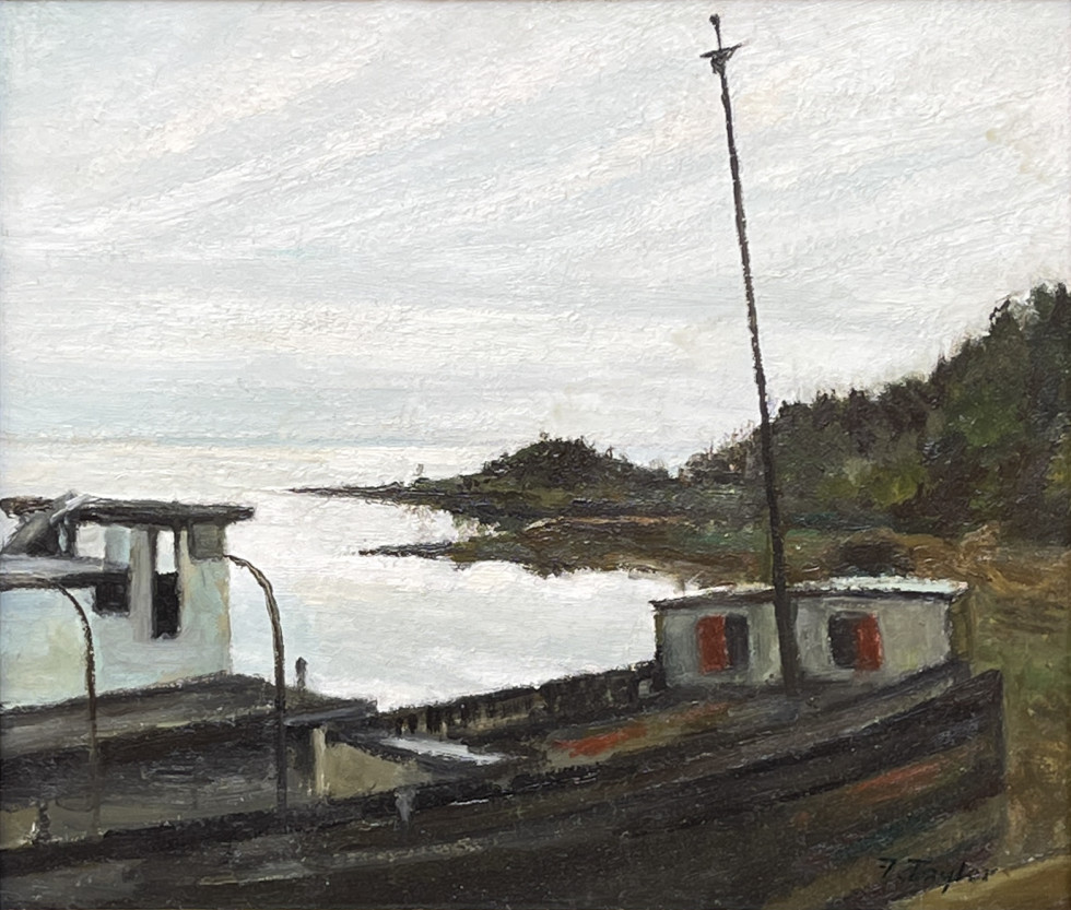 Frederick B. Taylor, Old Wreck in Port au Saumon, Charlevoix County, Que., 1983