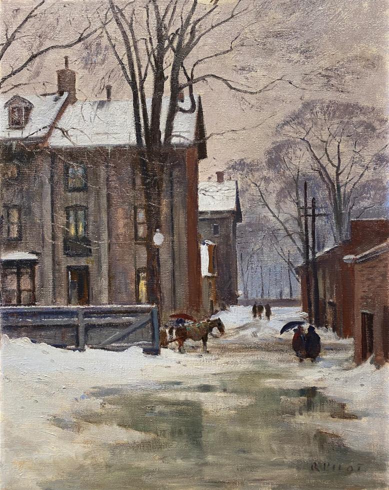 Robert Pilot, The Lane, Peel Street, Montreal, 1950 (circa)
