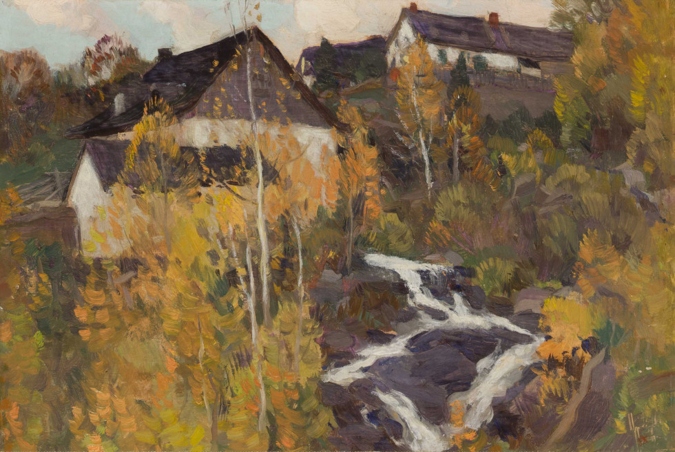 Clarence A. Gagnon, The Old Mill or Automne dans Charlevoix, 1923 (circa)