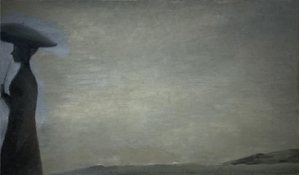 Jean Paul Lemieux, L'ondée, 1960