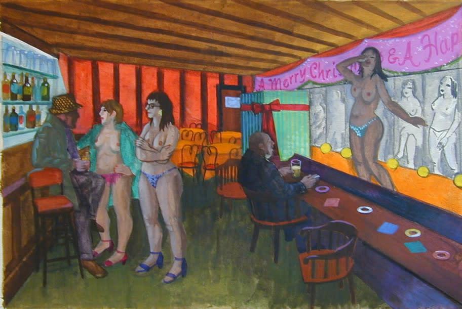 Philip Surrey, C.M., LL.D., R.C.A. 1910-1990Exotic Dancers - Danseuses exotiques Watercolour 12 x 18 in 30.5 x 45.7 cm