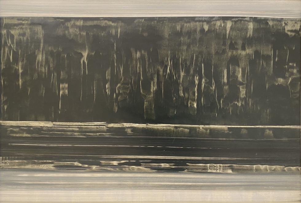 Jacques de Tonnancour, Bord de lac, Reflet, 1966