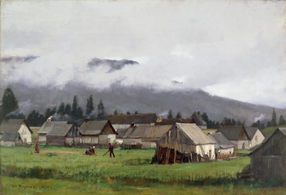 William Brymner, Baie St. Paul , 1890
