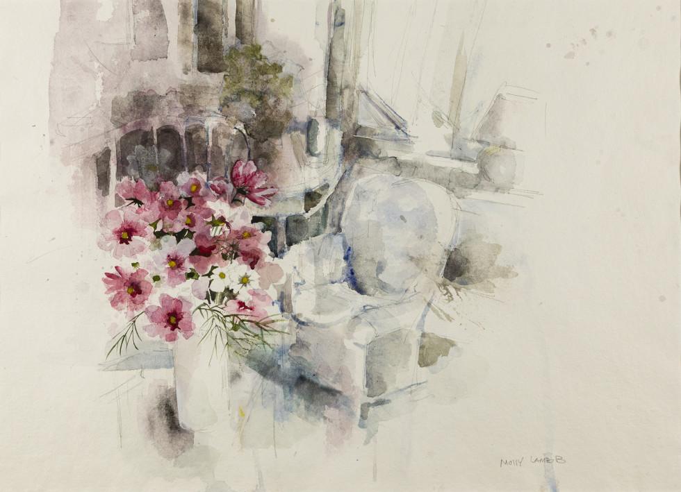Molly Lamb Bobak, John and Anny's Interior, 1993