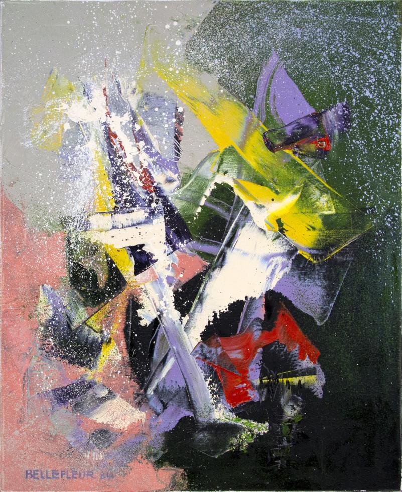 Léon Bellefleur, Meteors (Météores), 1984