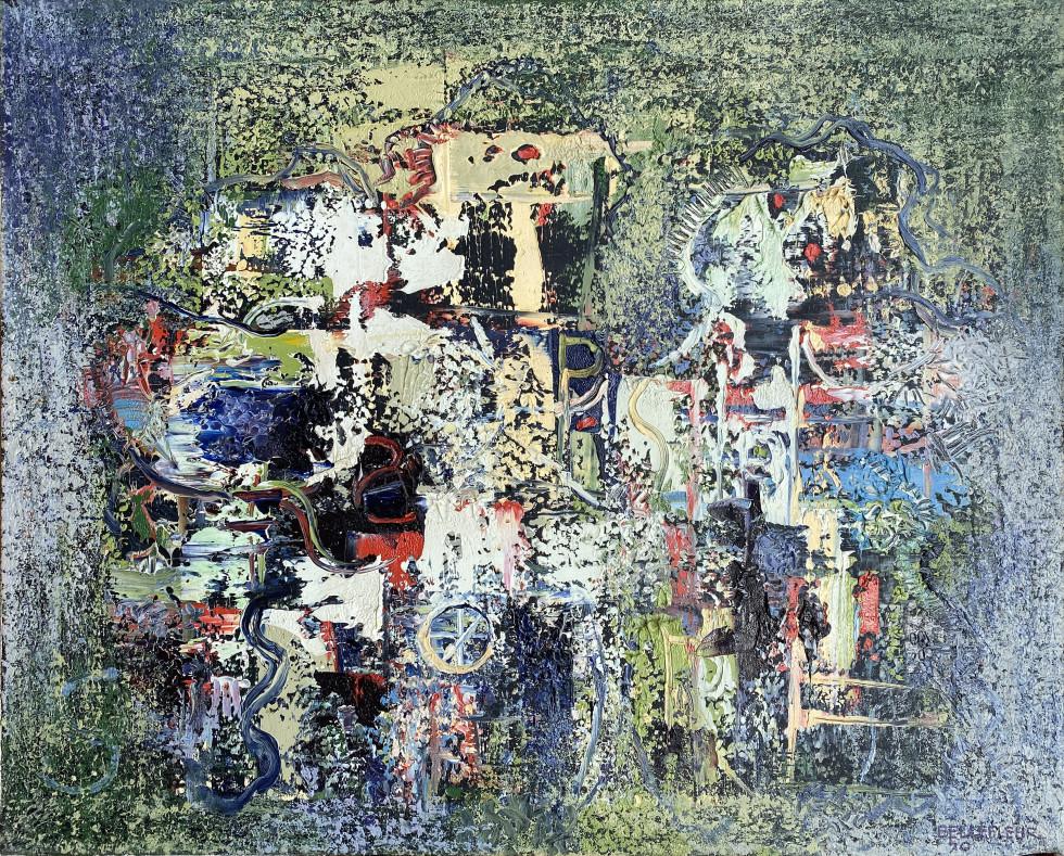 Léon Bellefleur, Les Saltimbanques, 1970